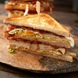 Hähnchen-Sandwich