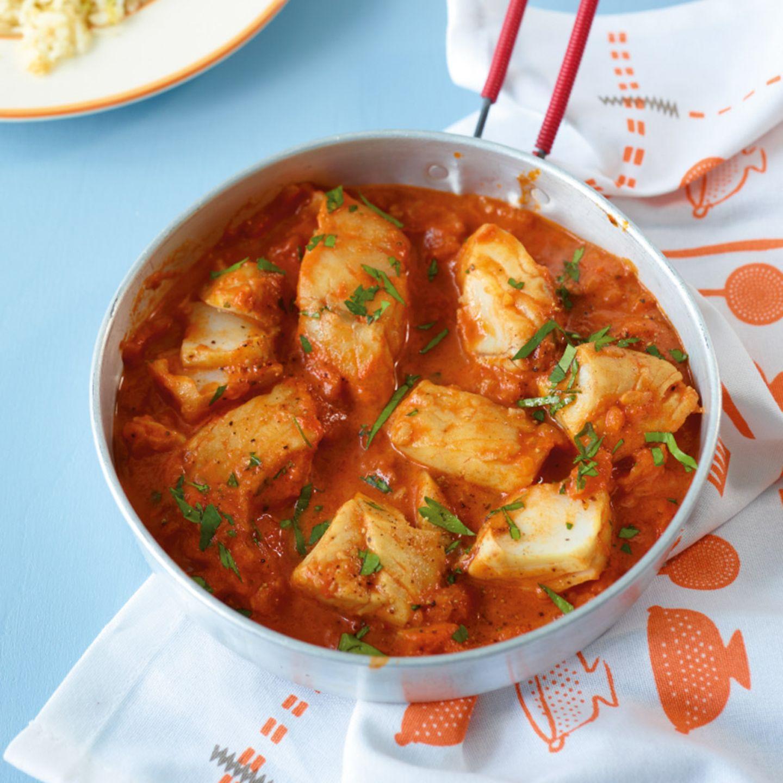 Fisch in Tomatensauce