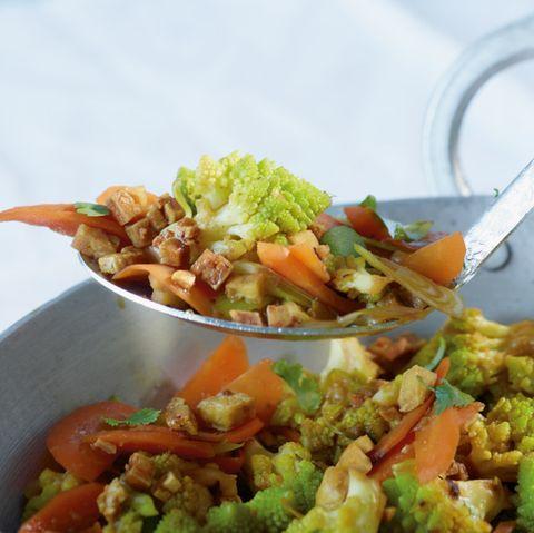 Tofu-Gemüse-Pfanne