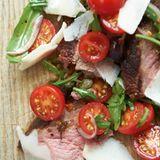 Tagliata mit Tomatensalat