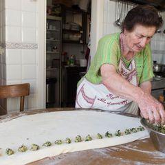 Pansotti con Salsa di Noci - Gefüllte Teigtaschen mit Walnusssauce