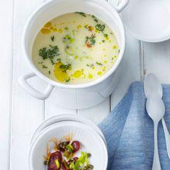Kartoffel-Lauch-Suppe