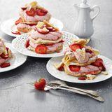 Erdbeer-Flockentörtchen