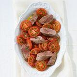 Lauwarmer Tomatensalat