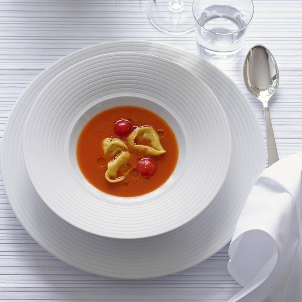 Tortelloni mit Ricotta-Oliven-Füllung