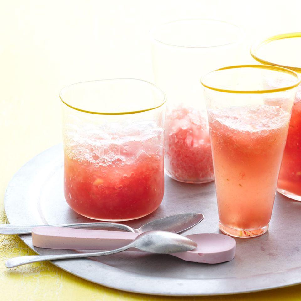 Melonen-Granita