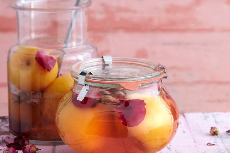 Eingemachte Pfirsiche Rezept