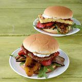 Grillgemüse-Burger