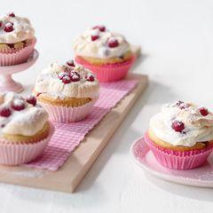Johannisbeer-Baiser-Muffins