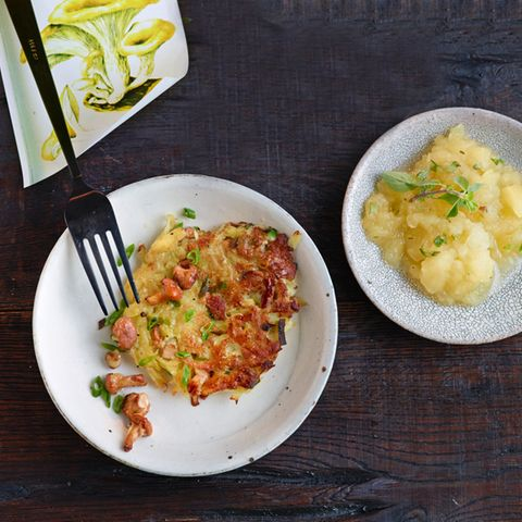 Kartoffel-Pfifferlingspuffer
