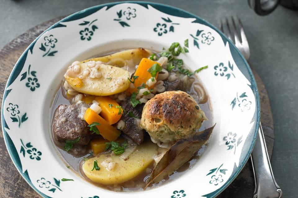 Beef Stew mit Klössen Rezept