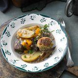Beef Stew mit Klössen