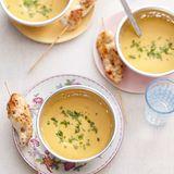 Süßkartoffel-Linsen-Cremesuppe