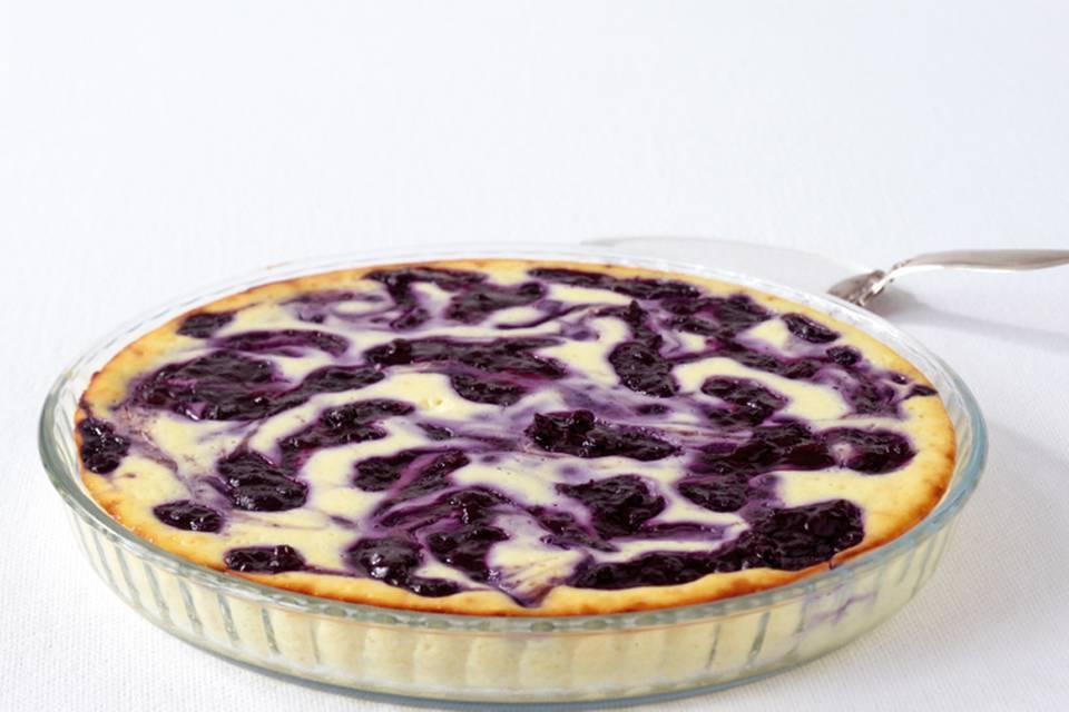 Ricotta-Heidelbeer-Tarte Rezept