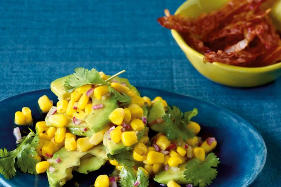 Avocado-Mais-Salat Rezept