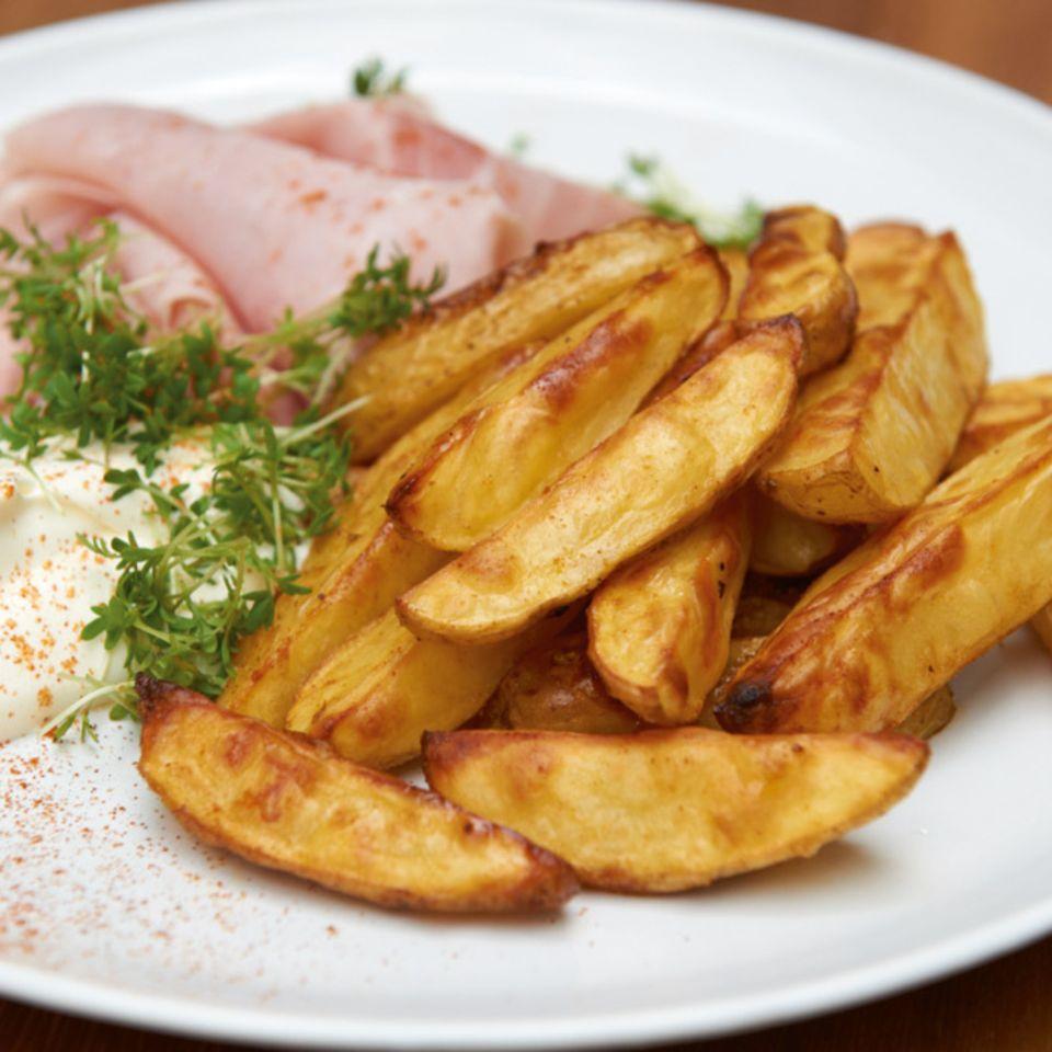 Kartoffelecken vom Blech