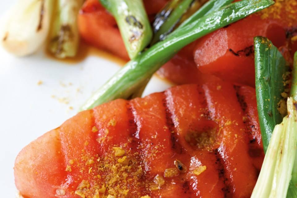 Gegrillte Wassermelone Rezept