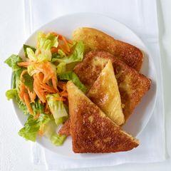 French Toast mit Salat