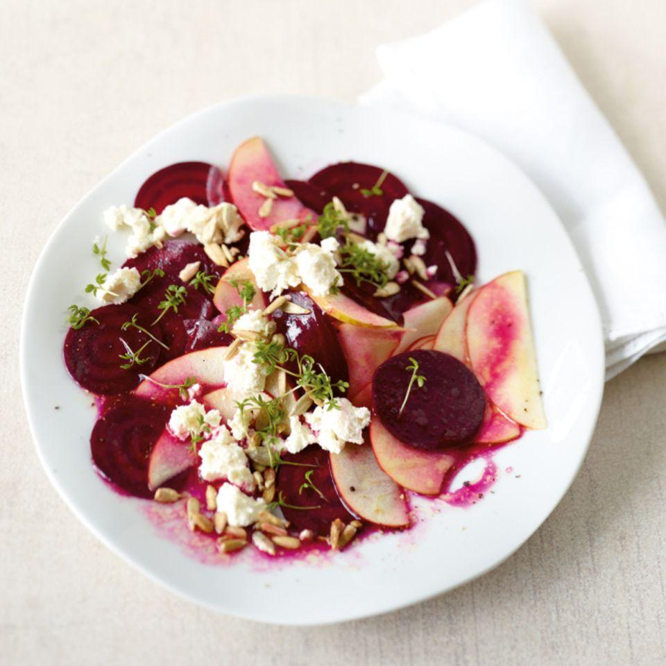 Rote-Bete-Apfel-Salat