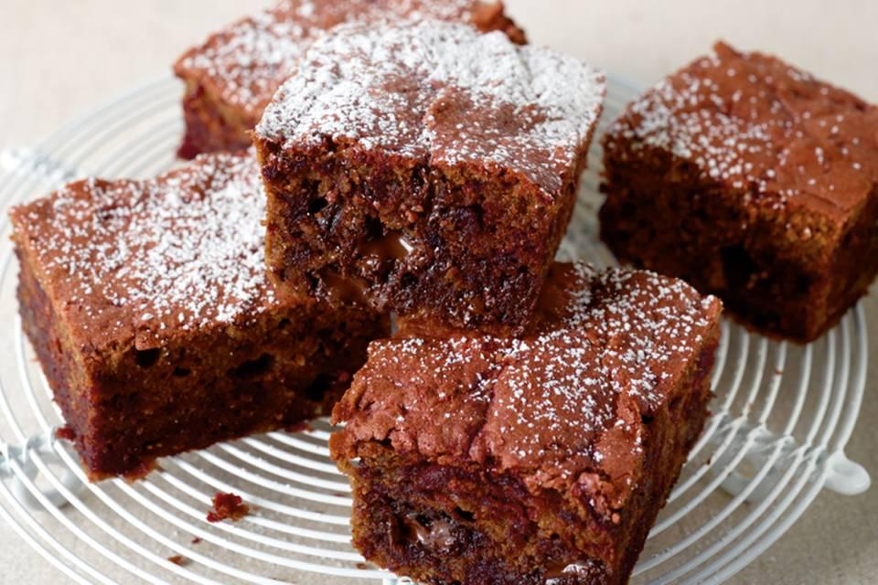 Rote-Bete-Brownies Rezept