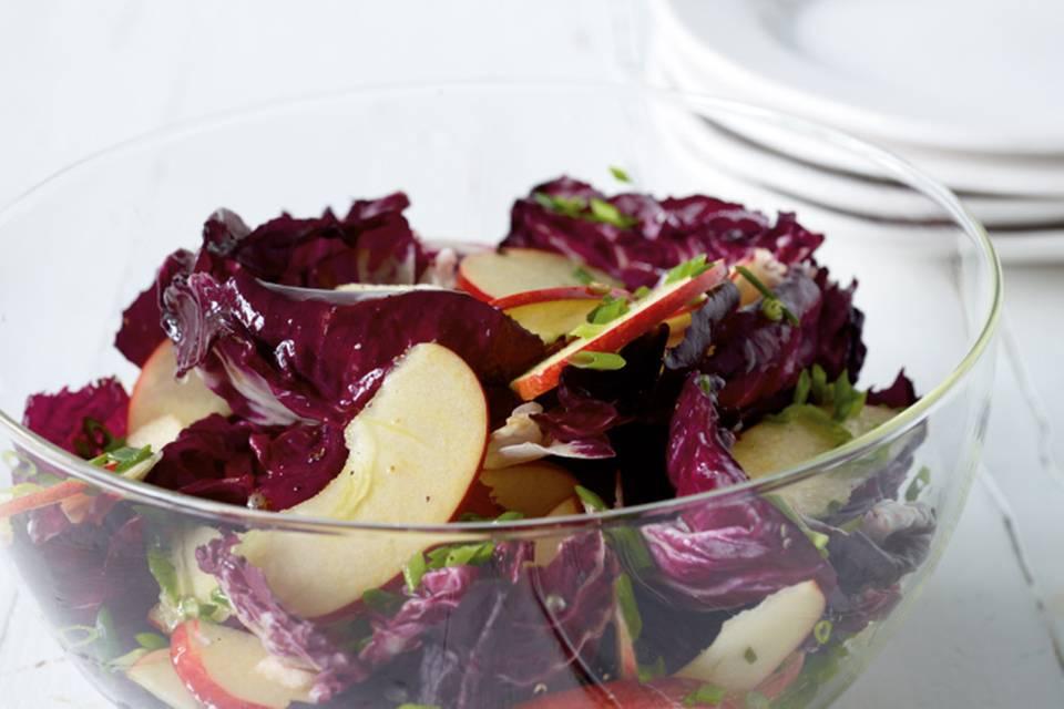 Radicchio-Apfel-Salat Rezept