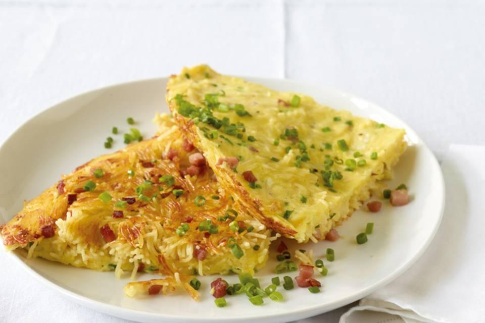 Carbonara-Omelett Rezept