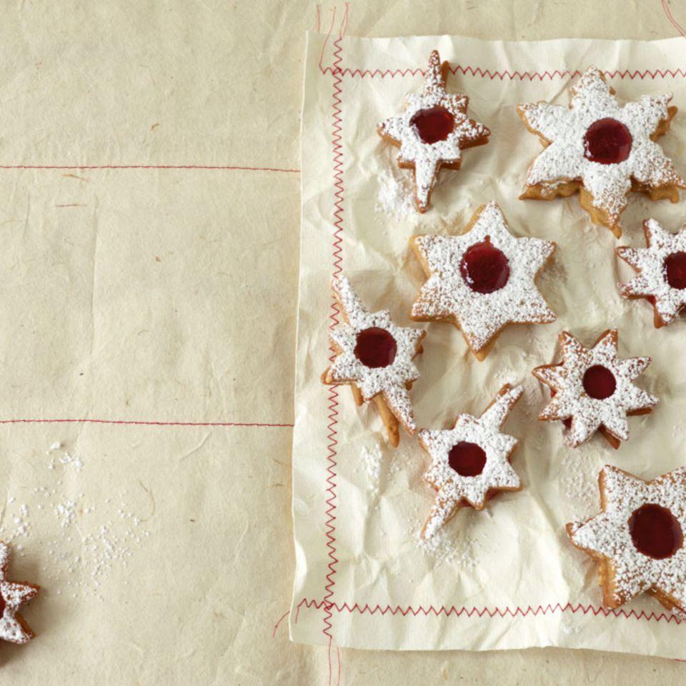 Pfefferkuchen-Sterne