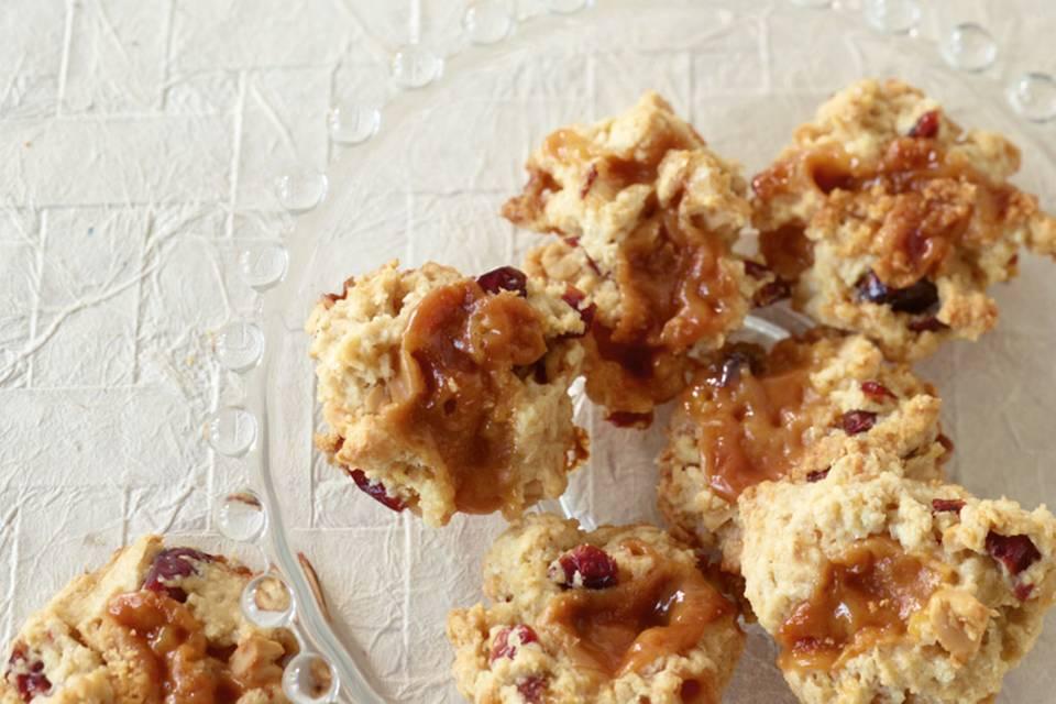 Karamell-Cookies Rezept