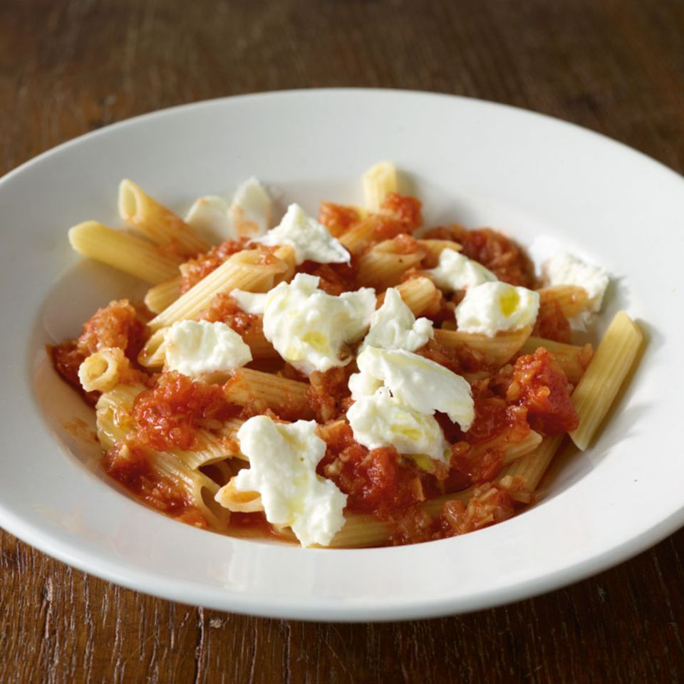 Tomaten-Fenchel-Pasta