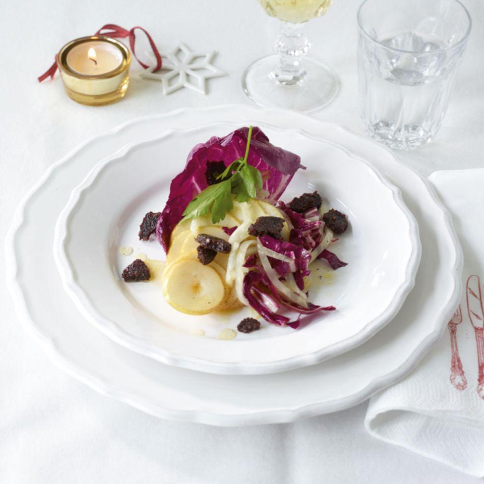 Sellerie-Birnen Salat