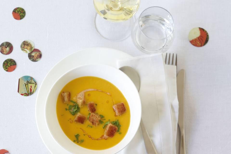 Linsen-Möhren-Suppe Rezept