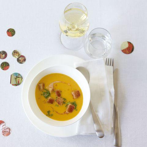 Linsen-Möhren-Suppe
