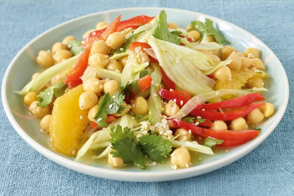 Kichererbsen-Fenchel-Salat Rezept
