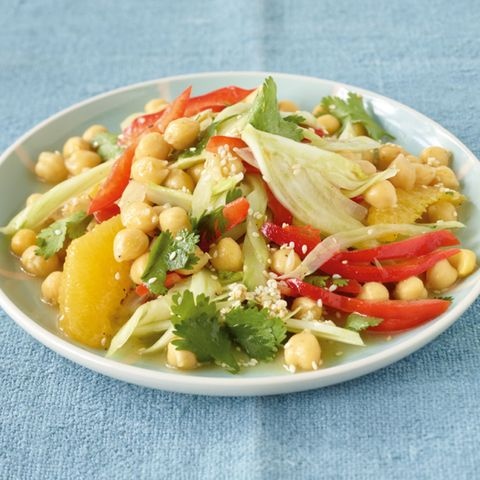 Kichererbsen-Fenchel-Salat