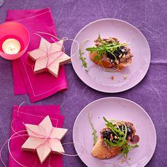 Baguette mit Pilz-Pâté