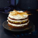 Honigkuchen-Bratapfel-Torte