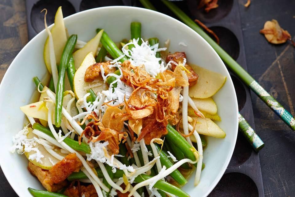 Kokos-Bohnen-Salat Rezept