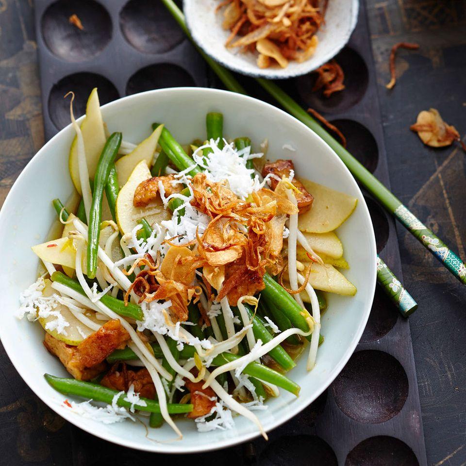 Kokos-Bohnen-Salat