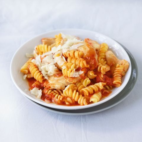 Tomaten-Harissa-Pasta