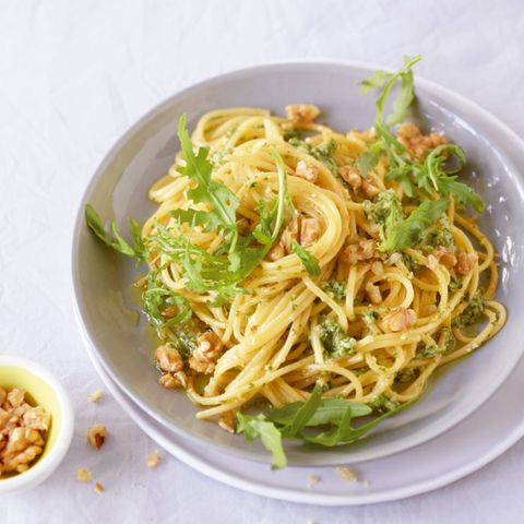 Spaghetti mit Walnuss-Pesto