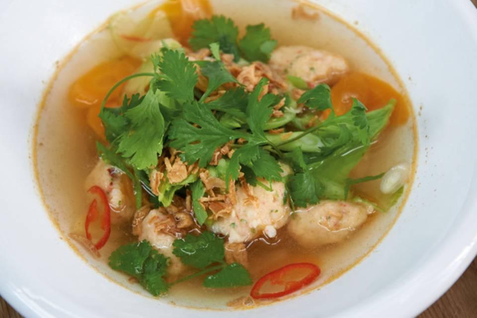 Thailändischer Fischeintopf Rezept