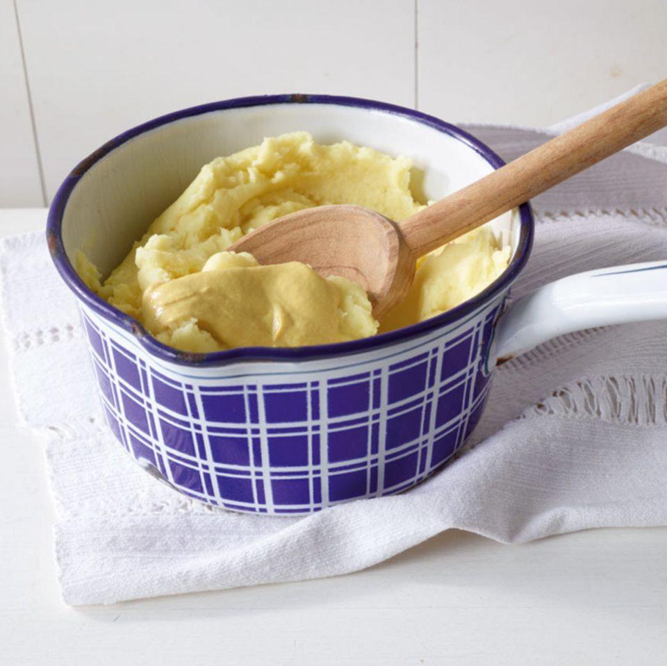 Senf-Kartoffelstampf