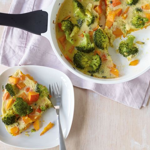 Kürbis-Broccoli-Frittata