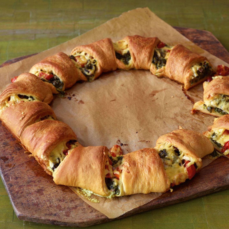 Deftiger Croissant-Kranz