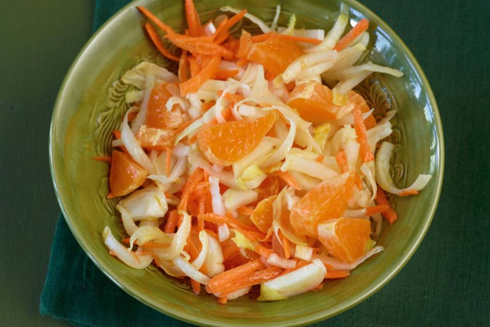 Chicorée-Möhren-Salat Rezept