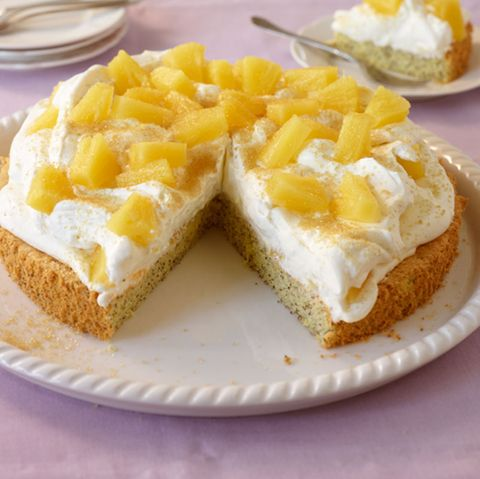 Mohn-Ananas-Torte