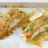 Parmesan-Kapern-Fisch