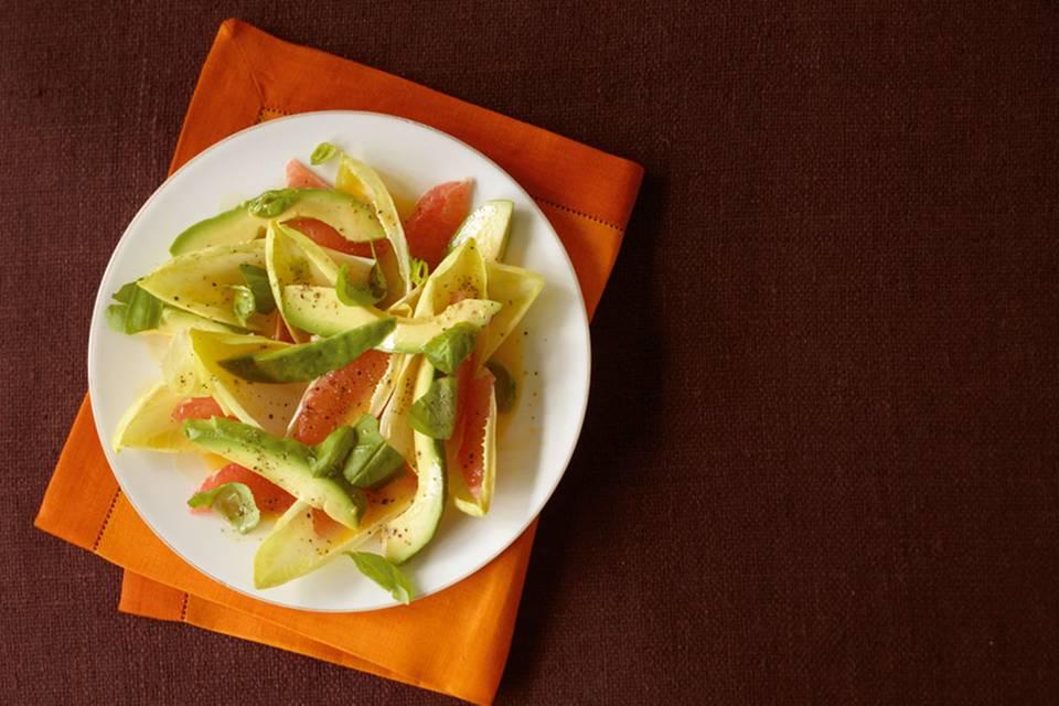 Chicorée-Avocado-Salat Rezept