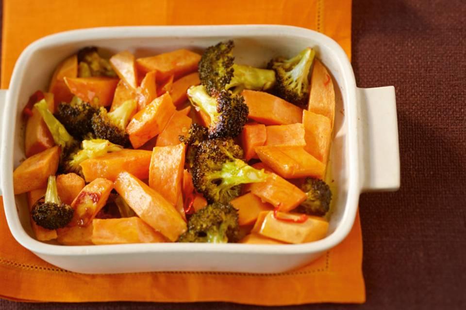 Broccoli-Süßkartoffel-Gemüse Rezept