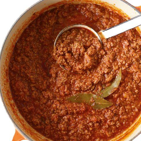 Grundrezept Sauce bolognese